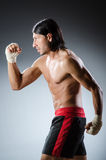 Ripped martial arts Stock Image