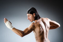Ripped martial arts Royalty Free Stock Photos