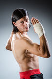 Ripped martial arts Stock Images