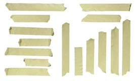 Ripped Masking Tape Royalty Free Stock Photos