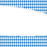 Ripped open paper German Oktoberfest Royalty Free Stock Images