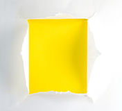 Ripped paper Stock Photography