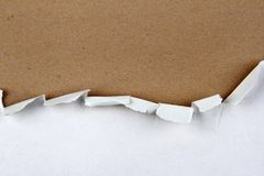 Ripped paper Royalty Free Stock Photography