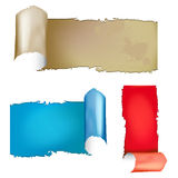 Ripped paper background Royalty Free Stock Photo