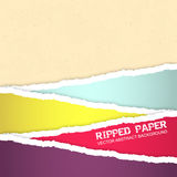 Ripped paper  background Stock Image