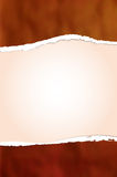 Ripped paper background Royalty Free Stock Photography