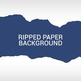 Ripped paper pieces background Stock Image