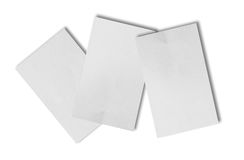 Ripped paper and Torn paper. Space for copy Royalty Free Stock Photography
