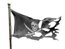 Ripped torn flag Stock Photos