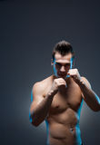 Ripped young guy. Royalty Free Stock Photography