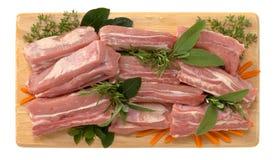 Rippen des Kalbfleisches Lizenzfreie Stockbilder