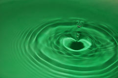 Ripple 7. Shapes,colors and textures formed in water Royalty Free Stock Photo