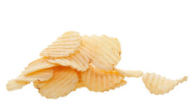 Ripple Chips Royalty Free Stock Photography