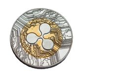 Ripple coin Stock Images