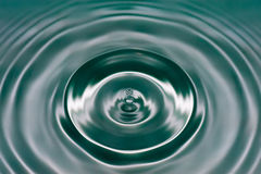 The Ripple and The Drop Stock Images