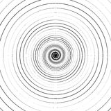 Ripple pattern with concentric circles. Circular geometric background. Royalty free vector illustration royalty free illustration