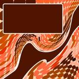 Ripple stylish background stock photo