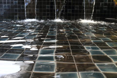 Ripple surface water in swimming pool Royalty Free Stock Photo