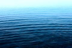 Ripple on the surface of the water Royalty Free Stock Photography