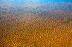 Ripple  on water. Gradient Ripples on water background Stock Photos