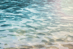 Ripple Water in the sea Stock Photography