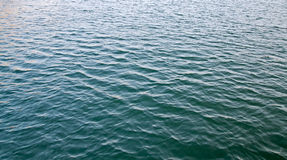 Ripple water surface texture at sea Royalty Free Stock Photos