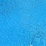 Ripple water in swimming pool Stock Photos