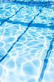 Ripple Water in swimming pool with sun reflection. Summer day at swimming pool. Background and texture concept.Vertical. Ripple Water in swimming pool with sun royalty free stock photography
