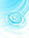 Ripple on the water, vector Royalty Free Stock Photo