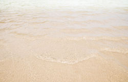 Ripple water wave in sea ocean Stock Photography