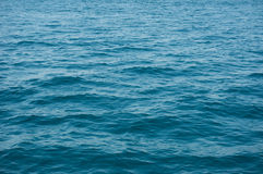 Rippled blue water Royalty Free Stock Images
