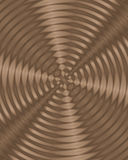 Rippled circular frequency background Royalty Free Stock Photography