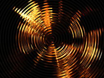 Rippled flamed. Distorted flames stock photos