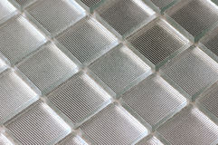 Rippled glass mosaic Stock Photo