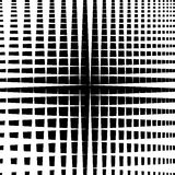 Rippled grid, mesh - Intersecting lines texture, abstract monoch Stock Photo