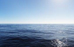 Rippled ocean in sunlight Royalty Free Stock Photos