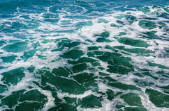 Rippled ocean water Royalty Free Stock Photo