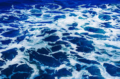 Rippled ocean water Stock Photography