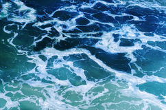 Rippled ocean water Royalty Free Stock Image