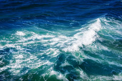 Rippled ocean water Royalty Free Stock Photography