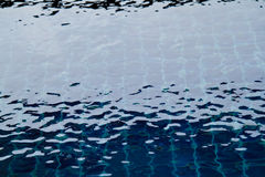 Rippled pattern of clean water Royalty Free Stock Photo