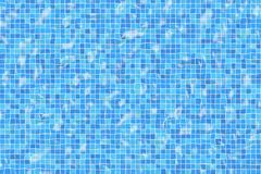 Rippled pool tiles Royalty Free Stock Photo