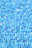 Rippled Pool Tiles Royalty Free Stock Image