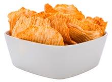 Rippled Potato Chips Royalty Free Stock Photos