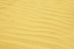 Rippled sand background Stock Photos