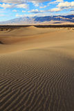 Rippled sand at Death Valley, California, USA.. Royalty Free Stock Image