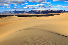 Rippled sand at Death Valley, California, USA.. Royalty Free Stock Images