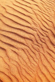 Rippled sand in desert. Stock Photography
