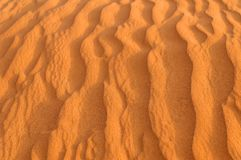 Rippled sand dune Royalty Free Stock Image