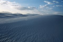 Rippled sand dunes Royalty Free Stock Photos